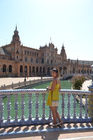 Plaza de España in Sevilla, Spain.